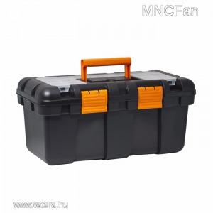 Hordozható 20 szerszám tartó láda doboz és rendszerező / kivehető szerszámtálca mély kialakítás