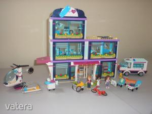 Lego Friends - Heartlake kórház 41318 (doboz+katalógus)