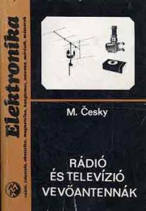 M. Cesky: Rádió és televízió vevőantennák
