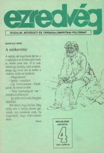 Ezredvég 1992. április