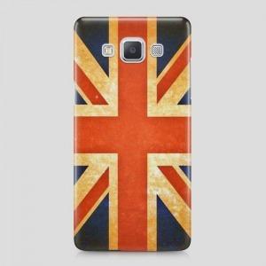 angol zászló Samsung Galaxy S6 Edge tok