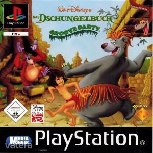 PS1  Játék The Jungle Book - Groove party