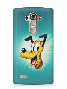 Pluto kutya mintás LG K8 tok hátlap