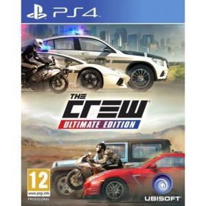 Ps4 the crew ultimate edition - Konzol, játékszoftver
