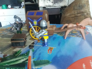Playmobil kincskísérő