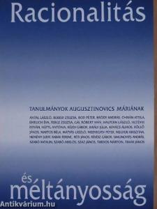 Racionalitás és méltányosság - Tanulmányok Augusztinovics Máriának