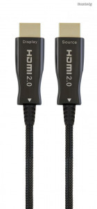 Gembird CCBP-HDMI-AOC-80M Active Optical (AOC) High speed HDMI with Ethernet Premium Series cable...