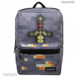 Minecraft hátizsák, iskolatáska