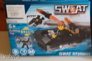 Swat csónakos építőjéték, 3in1 - ÚJ
