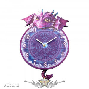 SÁRKÁNY óra. Dragon Tickin Pendulum Clock. B3511j7. óra, falióra