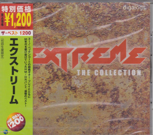 Extreme The Collection japán CD