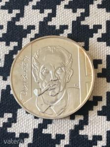 Ezüst 200 forint Derkovits Gyula 1977