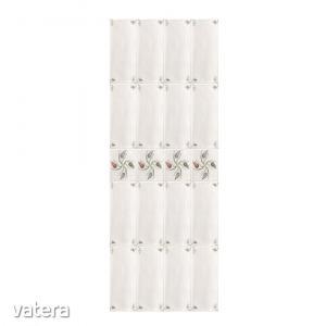 Falburkolat Vilo tulipán mintás, PVC panel, 0,8 x 25 x 265 cm (2,65 m2/csomag)