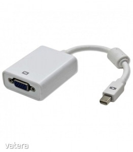 Astrum DA120 Mini Display Port - VGA adapter fehér (aktív)