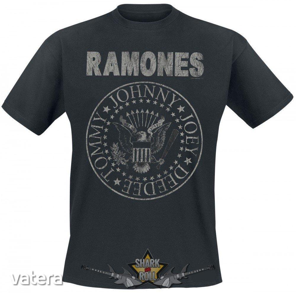 1123bc56e0 RAMONES - VINTAGE LOGO. zenekaros póló - 3999 Ft - Vatera.hu Kép