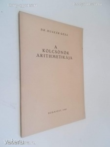 Dr. Huszár Géza: A kölcsönök arithmetikája *67