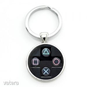 PlayStation controller kulcstartó, táskadísz - fekete színben - KÉSZLETRŐL! - 990 Ft - Vatera.hu Kép