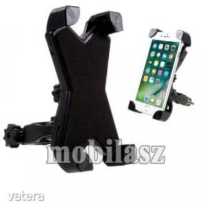 X-TREME telefon tartó kerékpár / bicikli - FEKETE - UNIVERZÁLIS - elforgatható - 100-160 mm-ig ny...