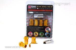 Kerékcsavar D1SPEC Replica 40mm M12x1.25 arany