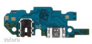 Samsung A105 Galaxy A10 gyári töltőcsatlakozós panel mikrofonnal (Type-C csatlakozó)
