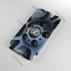 Lexus mintás Samsung Galaxy A6 Plus A6+ tok hátlap tartó
