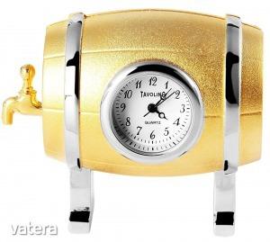 Tavolino miniatűr söröshordó óra