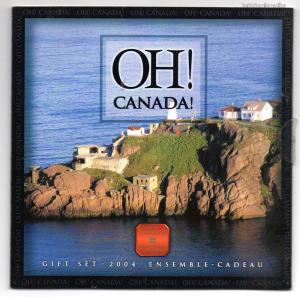 Kanada Forglami sor 2004 Oh! Canada! Gift Set 2004