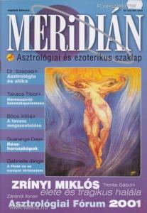 MERIDIÁN. ASZTROLÓGIAI ÉS EZOTERIKUS SZAKLAP. II. évfolyam, 3. szám
