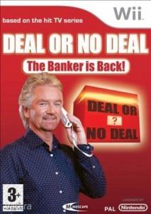 Nintendo Wii Játék Deal or No Deal - The banker is back