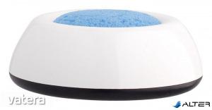Ujjnedvesítő szivacstál, ICO 'Lux', fehér