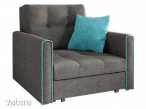 Kinyitható ágyneműtartós rugós fotelágy - MBL38014