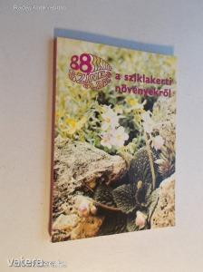 Wertán Zsolt: 88 színes oldal a sziklakerti növényekről (*KYS)