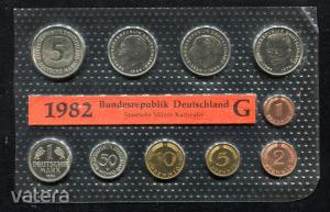 1982 G  Németország  nylon tokos forgalmi sor  BG22