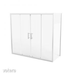 Paraván fürdőkádhoz JY-889-et, 170 x 70 x 150 cm