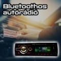 Bluetooth Mp3 lejátszó autórádió / USB + SD + MMC + FM rádió
