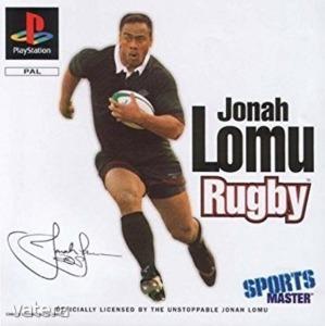 PS1  Játék Jonah Lomu - Rugby
