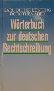 Wörterbuch zur deutschen Rechtschreibung