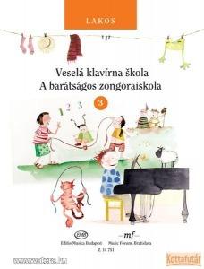 A barátságos zongoraiskola 3. (magyar és szlovák nyelven)