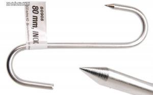 BGS-80908 Húskampó, 80mm INOX