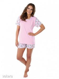 LINDA női pizsama szett-rövid méret: M