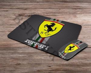 Ferrari mintás vezeték nélküli egér + egérpad