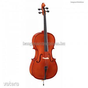 Soundsation Virtuoso Student Plus cselló tokkal, vonóval, 4/4 méret