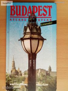 Budapest atlasz Új utcanevekkel