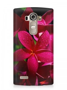 virág mintás LG K10 tok hátlap