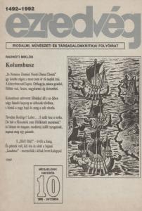 Ezredvég 1992. október