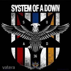System of a Down - Logo. SFL. felvarró