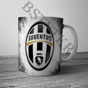 Juventus mintás bögre
