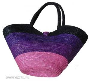Fonott táska színes