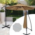 Függő napernyő, 2,7m - khaki