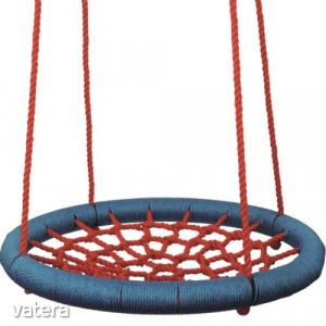 Woodyland fészekhinta, pókhinta - 85 cm átmérővel - piros-kék-91401
